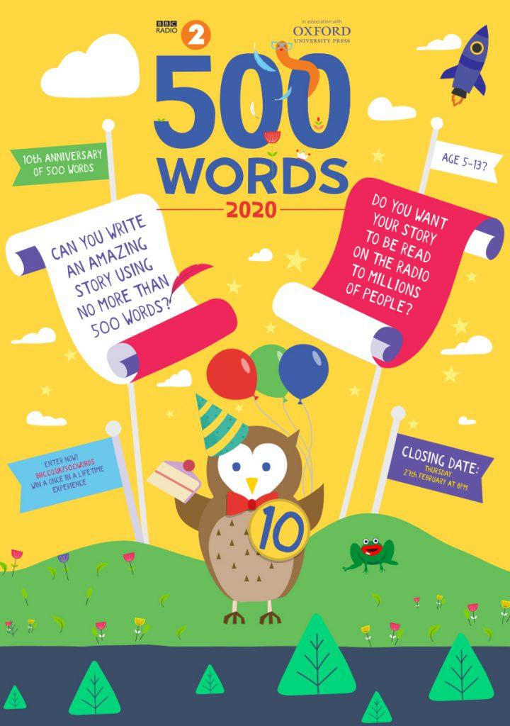 500 Words 2020 Bourne Academy